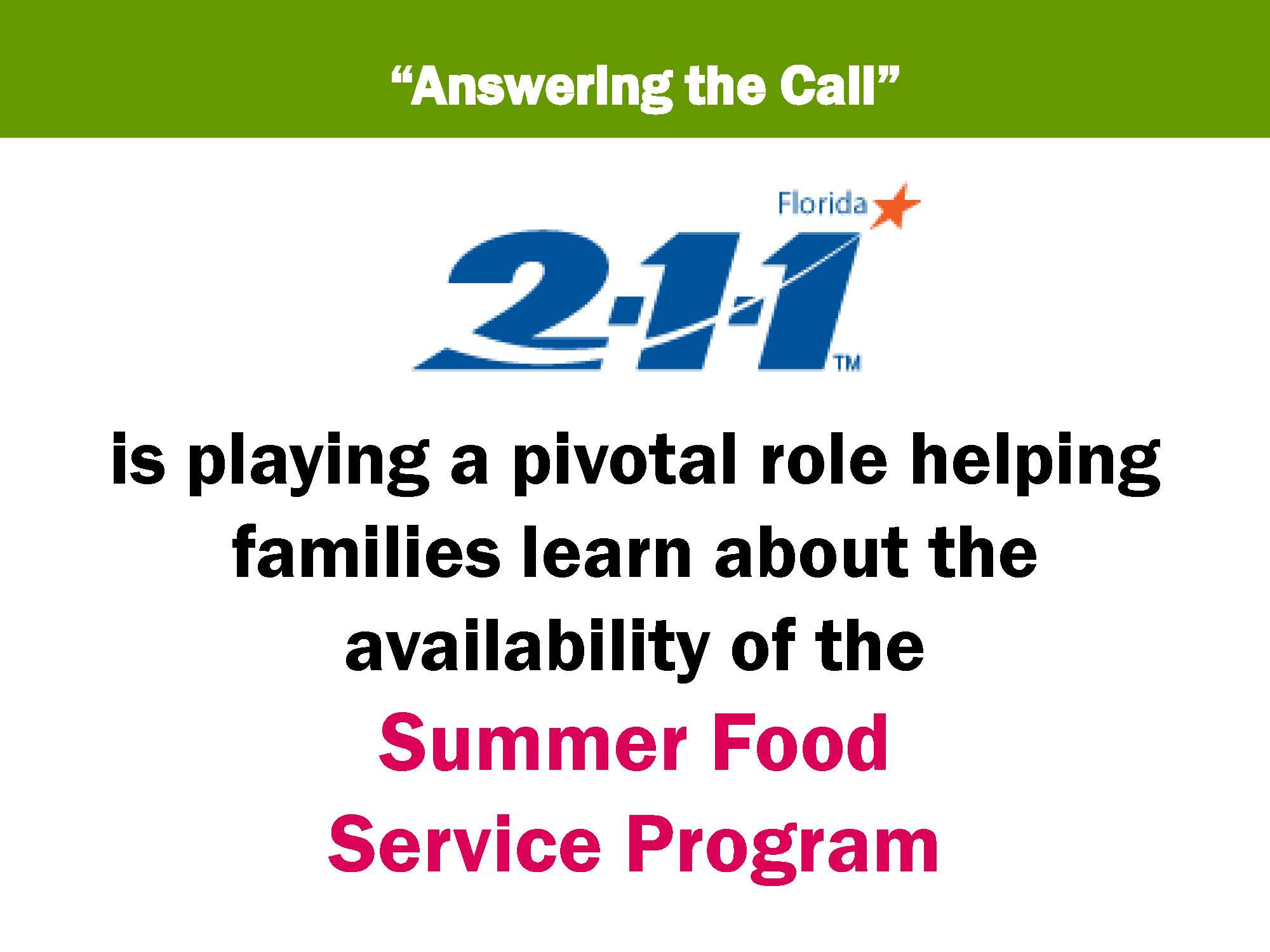 join the 2 1 1 call center in